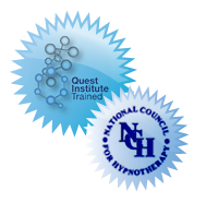 Trained at Quest Institute and Member of National Council for Hypnotherapy